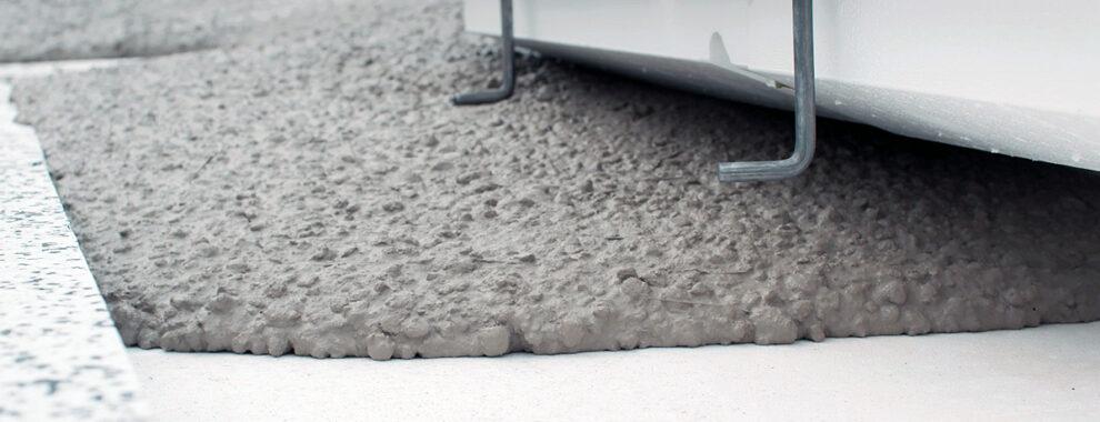 Staalvezel beton fundering geplaatst door Optibouw.nl
