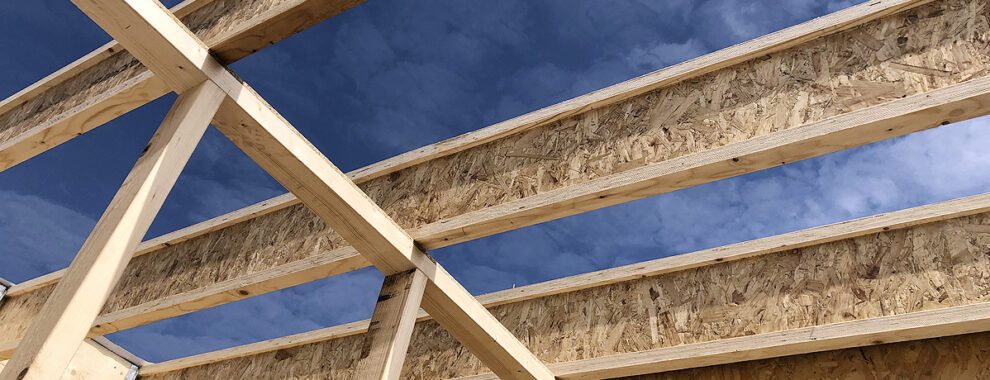 Finnjoist balken geplaatst door Optibouw.nl