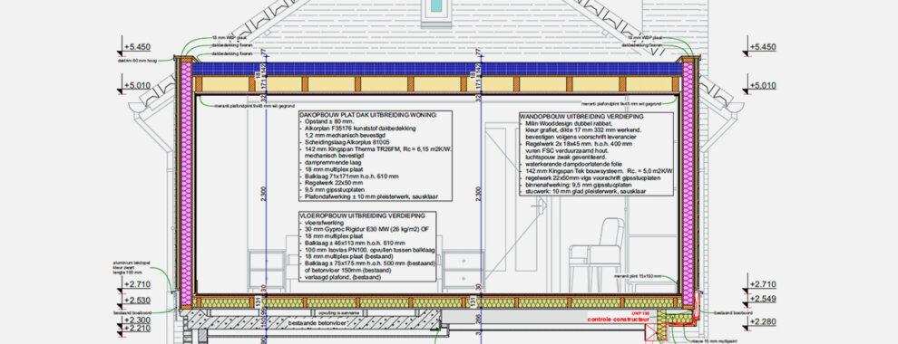 De lichtgewicht Kingspan TEK panelen maken bijna overal een opbouw mogelijk